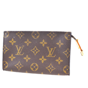 Louis Vuitton Monogram Bucket PM Pouch Pouch Brown