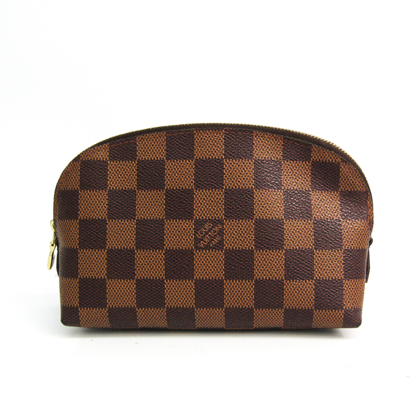 Louis Vuitton Damier Poche Cosmetic N47516 Women's Pouch Ebene