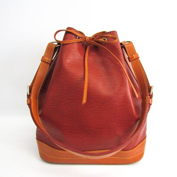 Louis Vuitton Epi Noe Bicolor M44028 Women's Shoulder Bag Gold Cipango,Kenyan Brown