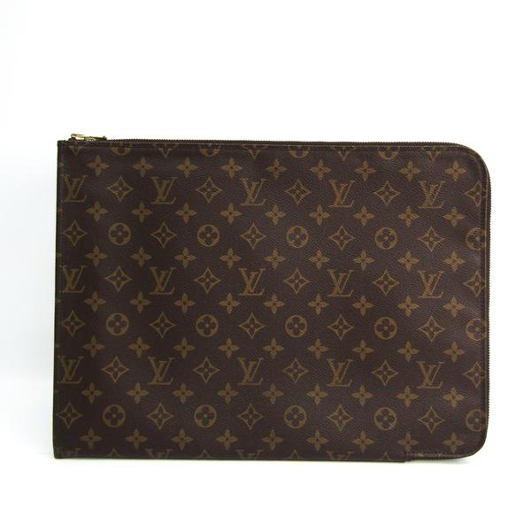 Louis Vuitton Monogram Poche Document M53456 Women's Briefcase Monogram