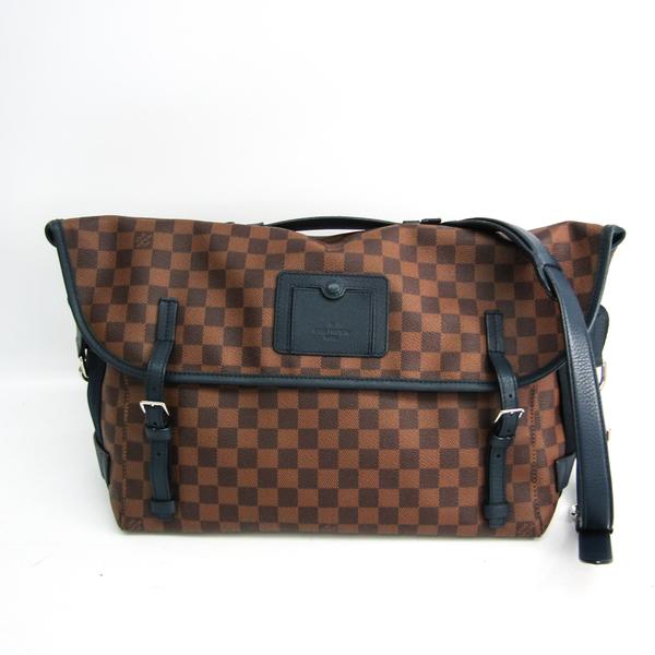 Louis Vuitton Damier Buzzus N41236 Unisex Handbag,Shoulder Bag Blue,Ebene