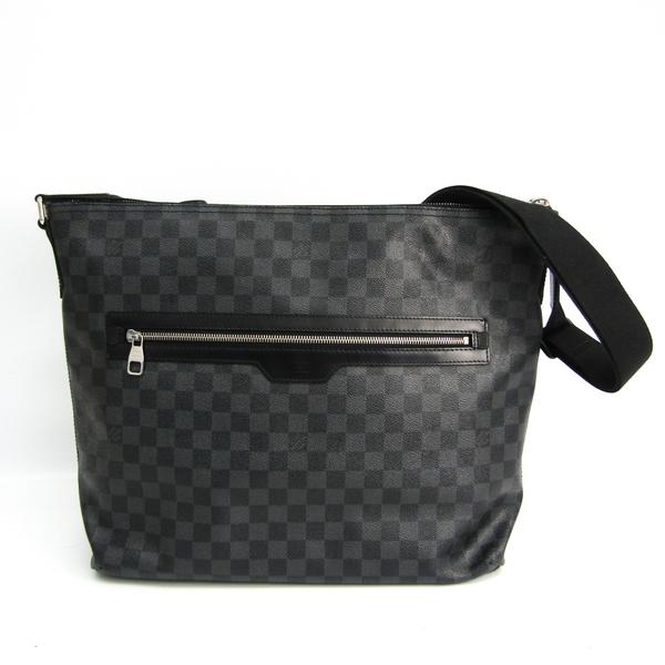 Louis Vuitton Damier Graphite Mick GM N41105 Men's Shoulder Bag Damier Graphite