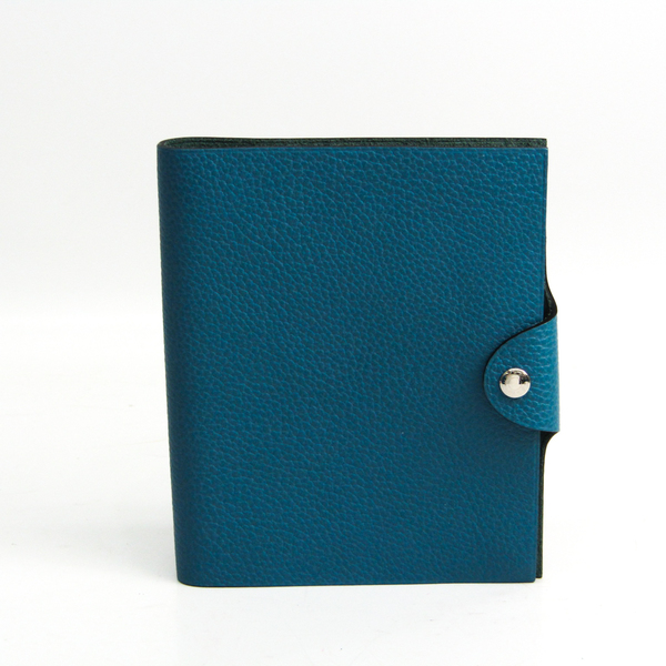 Hermes Ulysse Planner Cover Blue Jean PM Amway