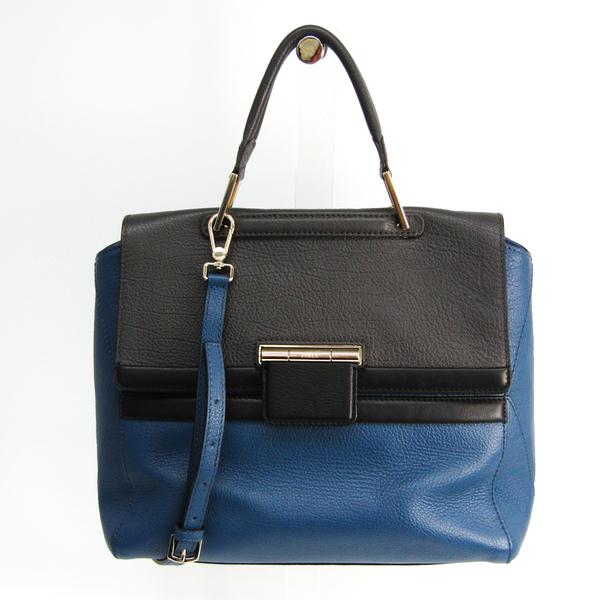 Furla ARTESIA Women's Leather Handbag,Shoulder Bag Black,Blue,Gray