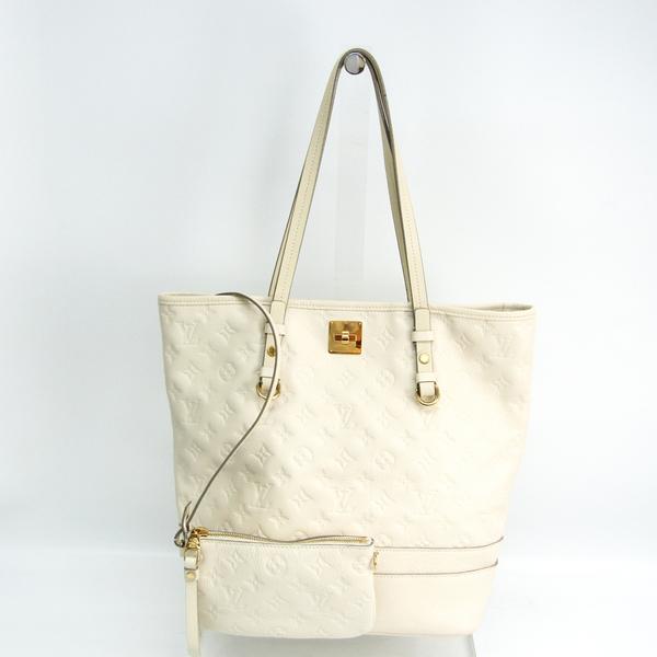 Louis Vuitton Monogram Empreinte Citadines PM M40554 Shoulder Bag Neige