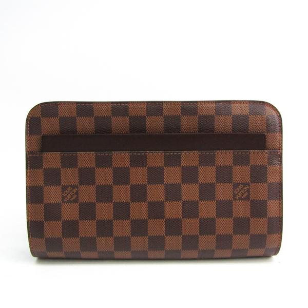 Louis Vuitton Saint Louis N51993 Women's Clutch Bag Ebene