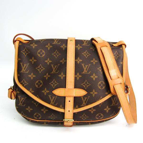 Louis Vuitton Monogram Saumur 30 M42256 Women's Shoulder Bag Monogram