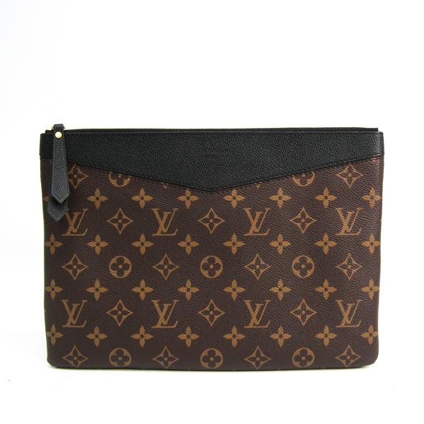 Louis Vuitton Monogram Daily Pouch M62048 Unisex Clutch Bag,Pouch Monogram,Noir