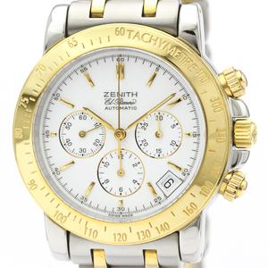 Zenith El Primero Automatic Stainless Steel,Yellow Gold (18K) Men's Sports Watch 53-0360-400