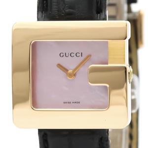 グッチ(Gucci) 3600L クォーツ K18ピンクゴールド(K18PG) レディース ドレスウォッチ 3600L