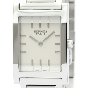 Hermes Tandem Quartz Stainless Steel Men's Dress Watch TA1.710