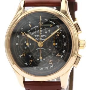 Zenith El Primero Automatic Rose Gold (18K) Men's Sports Watch 17.0500.400
