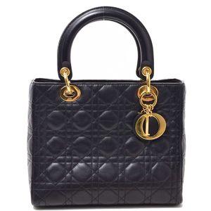 Dior Lady 2WAY Shoulder Leather