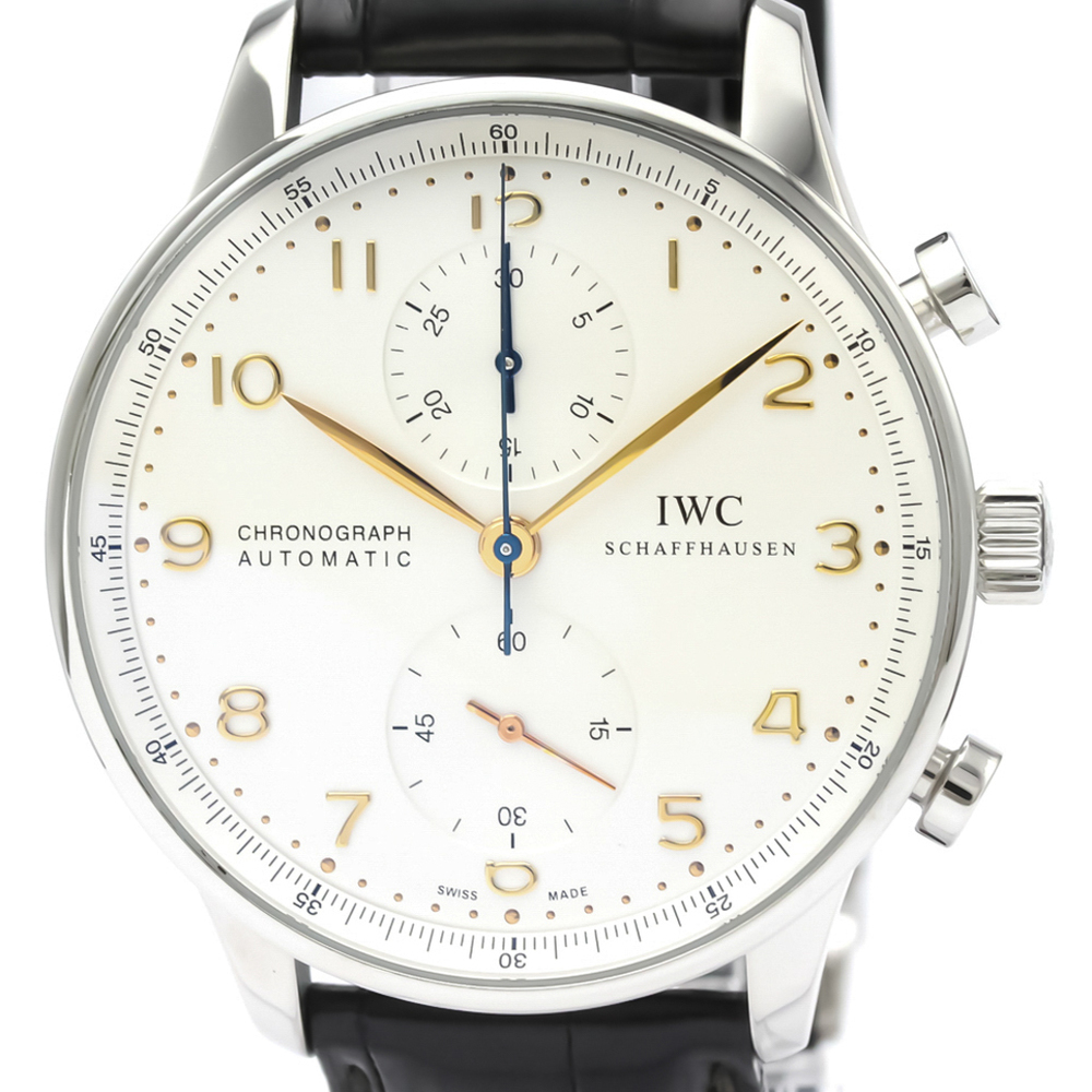 IWC Portugieser Automatic Stainless Steel Men's Sports Watch IW371445