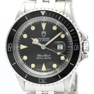 Tudor Mini Sub Automatic Stainless Steel Sports Watch 73090