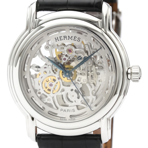 Hermes Sesame Automatic Stainless Steel Men's Dress Watch SM1.710