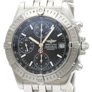 BREITLING Chronomat Black Bird Steel Automatic Watch A13353