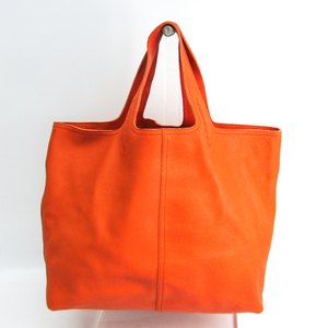Bottega Veneta Large Tote 145166 Women's Leather Tote Bag Orange
