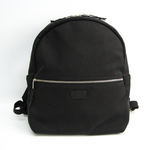 Saint Laurent 534967 Unisex Nylon Canvas,Leather Backpack Black
