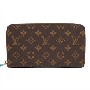 ルイ・ヴィトン(Louis Vuitton) モノグラム ジッピーオーガナイザー ユニセックス PVC カードウォレット ブラウン