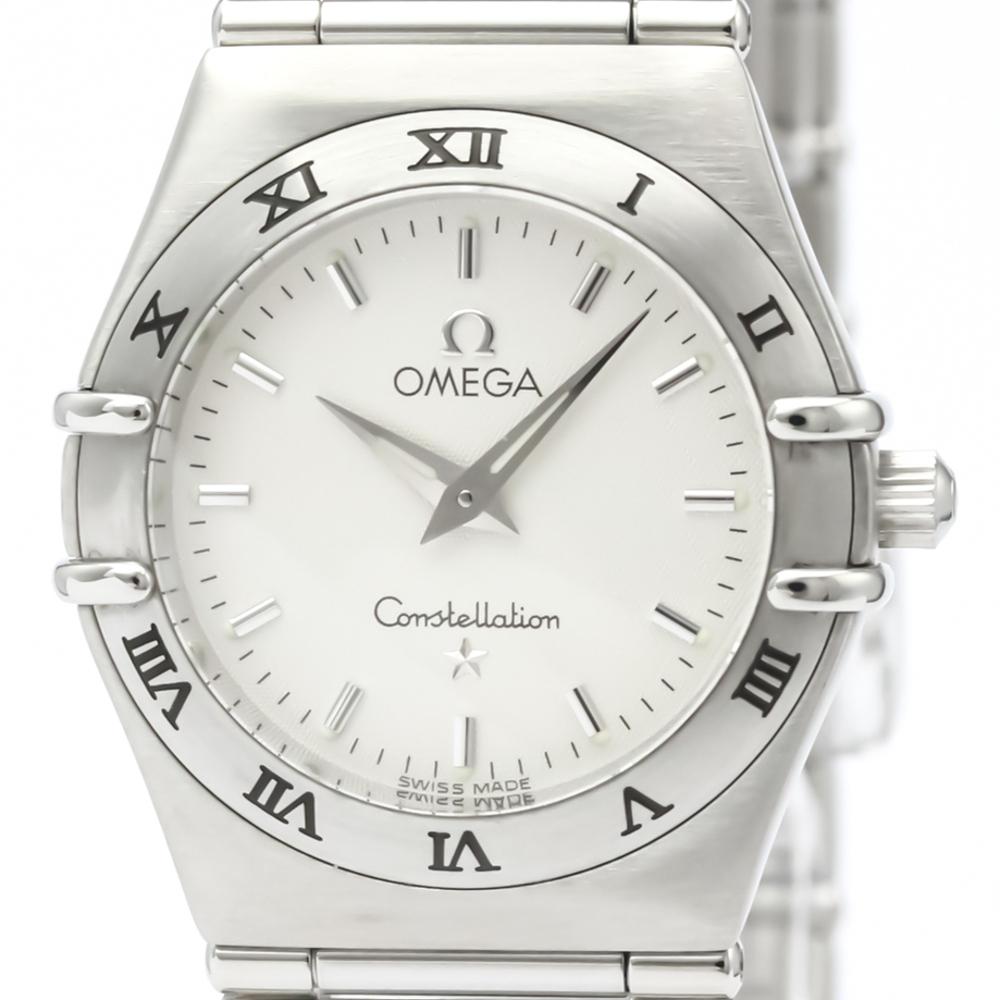 オメガ(Omega) コンステレーション クォーツ ステンレススチール(SS) レディース ドレスウォッチ 1572.30