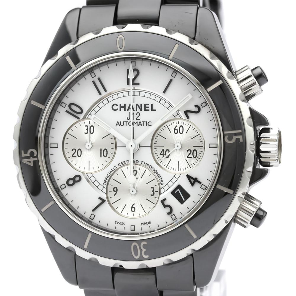 Chanel J12 Automatic Ceramic Men's Sports Watch H0940