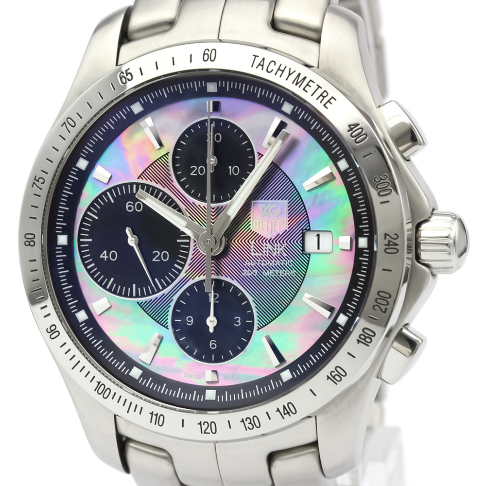 Tag Heuer Link Automatic Stainless Steel Men's Sports Watch CJF211K