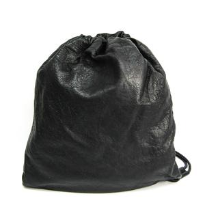 バレンシアガ(Balenciaga) 459588 ユニセックス レザー ショルダーバッグ ブラック