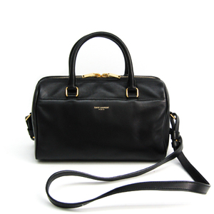 Saint Laurent Baby Duffle 330958 Women's Leather Handbag Black