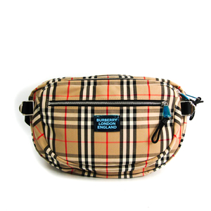 Burberry CANNON 8017734 Unisex Nylon,Canvas Fanny Pack Beige,Black,Ivory,Red Color