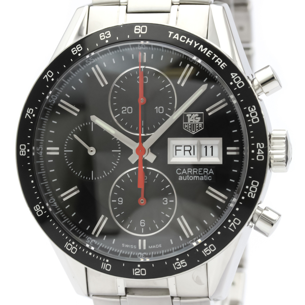Tag Heuer Carrera Automatic Stainless Steel Men's Sports Watch CV201AH