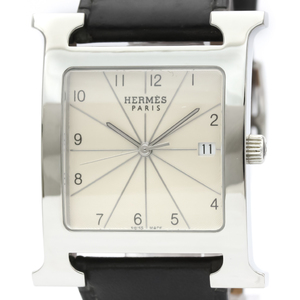 Hermes Heure H Quartz Stainless Steel Men's Dress Watch HH1.810