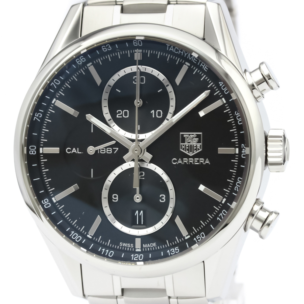 TAG HEUER Carrera Calibre 1887 Chronograph Steel Watch CAR2110