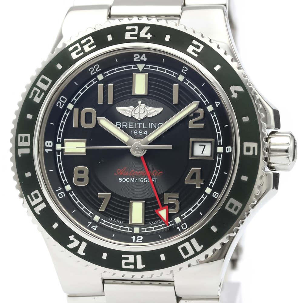 Breitling Superocean Automatic Stainless Steel Men's Sports Watch A32380