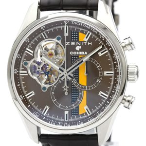 Zenith Chronomaster Automatic Stainless Steel Men's Sports Watch 03.2047.4061