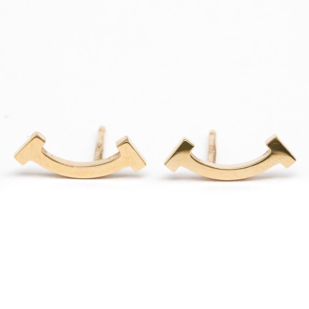 Tiffany Smile Rose Gold (18K) Stud Earrings