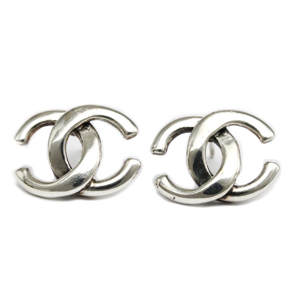Chanel Coco Metal Earrings