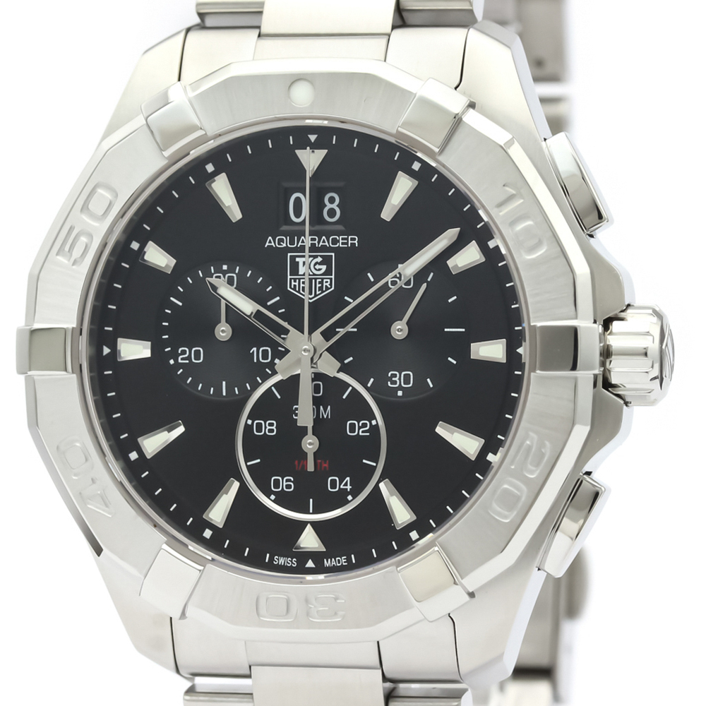 Tag Heuer Aquaracer Quartz Stainless Steel Men's Sports Watch CAY1110