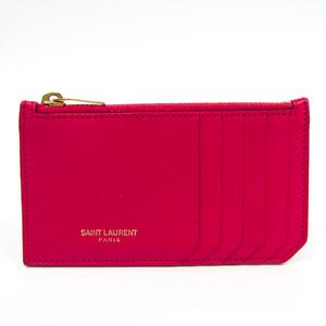 イヴ・サンローラン(Yves Saint Laurent) 379278 レディース レザー 小銭入れ・コインケース ピンク