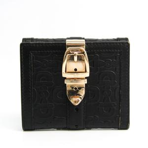 グッチ(Gucci) 146203 ユニセックス レザー 財布(二つ折り) ブラック