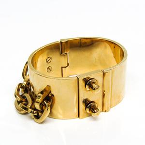 ルイ・ヴィトン(Louis Vuitton) メタル バングル ゴールド