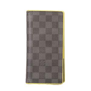 ルイヴィトン 二つ折り長財布 ダミエグラフィット ポルトフォイユブラザ N63252 アニス