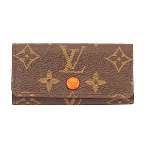 Auth Louis Vuitton Monogram Multicles 4 M64070 Women's Key Case