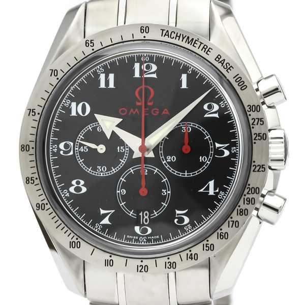 Omega Speedmaster Automatic Stainless Steel Men's Sports Watch 3558.50