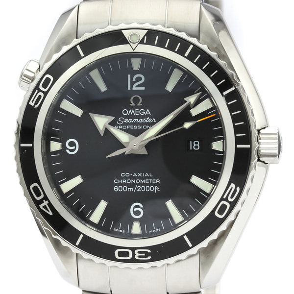 OMEGA Seamaster Planet Ocean Steel Automatic Watch 2200.50