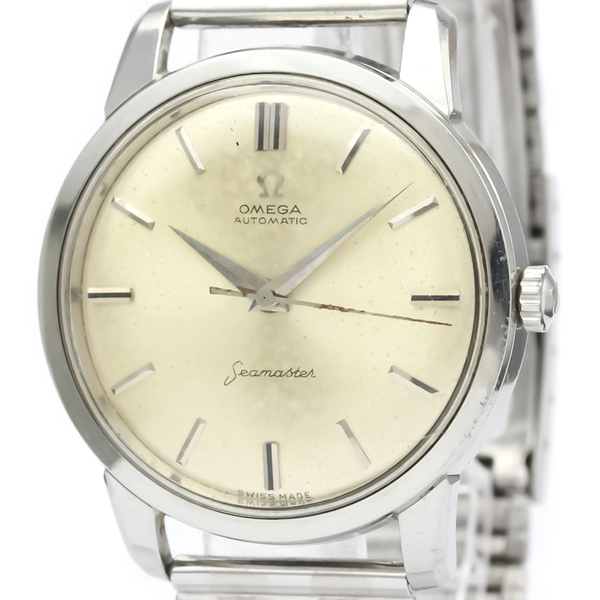 Omega Seamaster Automatic Stainless Steel Men's Dress Watch 14764