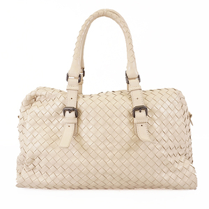 Bottega Veneta Intrecciato Women's Leather Handbag Beige
