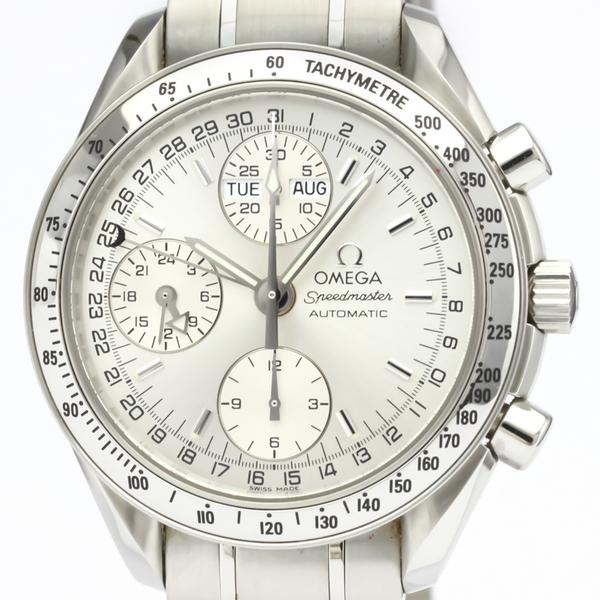OMEGA Speedmaster Triple Date Steel Automatic Watch 3523.30