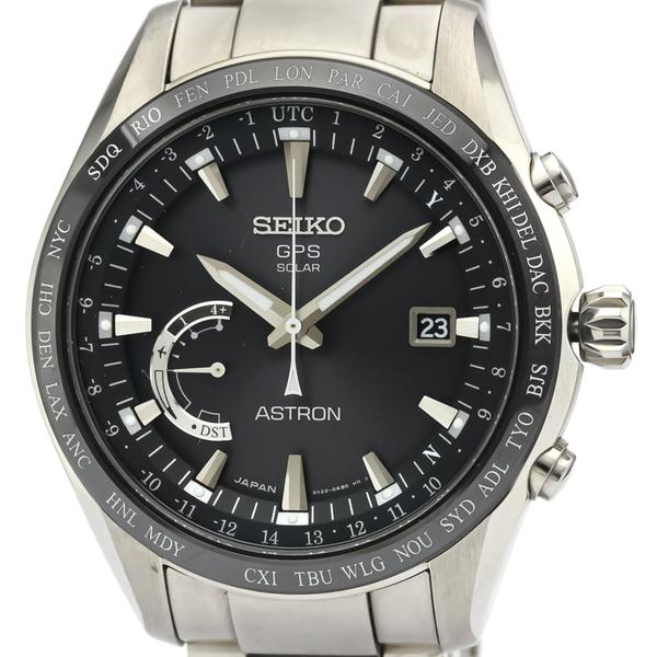 Seiko Astron Solar Ceramic,Titanium Men's Sports Watch SBXB085(8X22-0AG0)