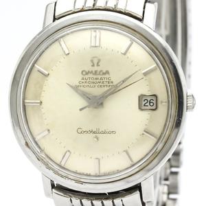 オメガ(Omega) コンステレーション 自動巻き ステンレススチール(SS) メンズ ドレスウォッチ 168.004